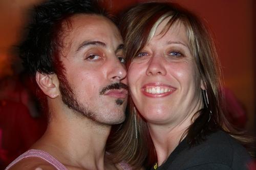 Mario Diaz & Outfest Programming Director Kirsten Schaefer